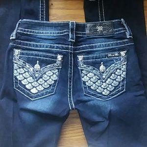 Miss Me slim bootcut jeans
